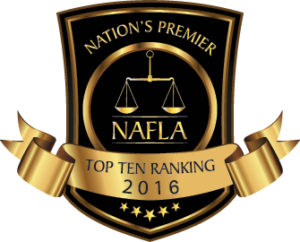 National Academy of Family Law Attorneys Top 10 Attorney